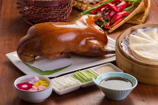 China's most famous traditional food, Beijing roast duck package